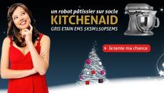 Gagnez un robot pâtissier sur socle Kitchenaid avec Iménager !