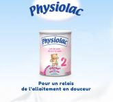 Échantillon lait 2ème âge Physiolac! 0 (0)