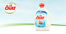100 bidons de lessive Le Chat 0% Sensitive offerts