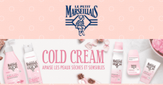 3000 coffrets Cold Cream Le Petit Marseillais gratuits 0 (0)