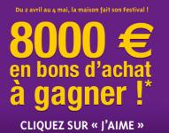 Leroy Merlin: 8 000 euros en bons d'achat à gagner ! 0 (0)