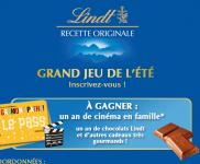 Un an de ciné + un an de chocolat Lindt et + encore!