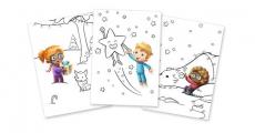 1 livre de coloriage de Noël gratuit