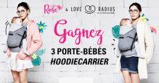 Tentez de gagner 3 porte bébés Hoodie Carrier de 130€