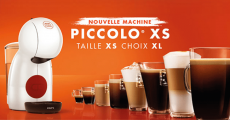 100 machines à café Nescafé Piccolo XS à tester