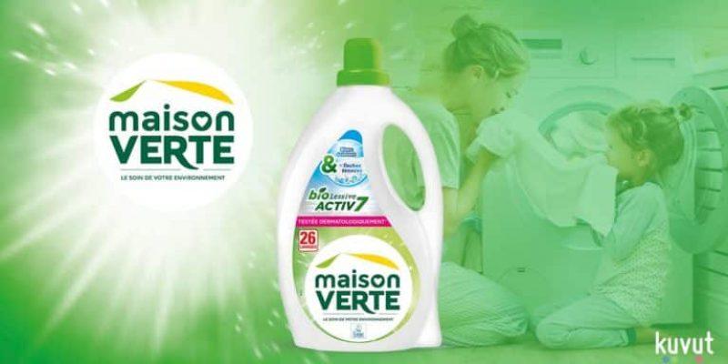2500 bidons de lessive Maison Verte gratuits !