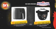 En jeu : 30 friteuses Philips Airfryer + 30 cuiseurs Moulinex Cookeo Connect