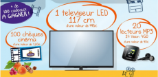 Gagnez une TV LED Philips, des lecteurs MP3 et des chèques cinéma !
