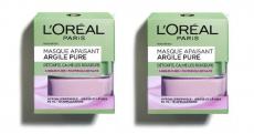 100 masques Apaisant Argile Pure L'Oréal gratuits
