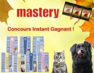 Des échantillons gratuits MASTERY pour chien ou chat !