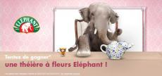 Une théière à fleurs Éléphant à gagner !