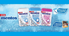 300 packs de chewing-gums Mentos offerts