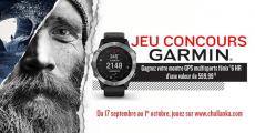 Tentez de remporter 1 montre GPS Garmin de 599€