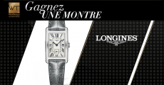 Tentez de remporter 1 montre Longines de 1100€