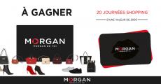 20 cartes cadeaux Morgan de 200€ offertes