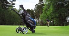 A remporter : 1 chariot de golf Motocaddy S5