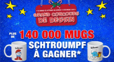 256 860 Cadeaux GRATUITS et 140 000 Mugs Schtroumpfs à GAGNER !