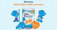 500 packs découverte Nestlé Nidal 2 Bébés Gourmands gratuits