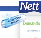 Échantillon de tampon Nett!