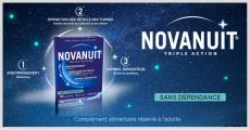 2'000 packs du complément alimentaire Novanuit Triple Action offerts