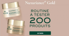 200 soins Nuxe offerts