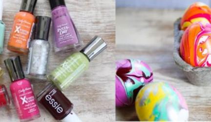 Oeufs de Pâques marbrés multicolores ! 3 (2)