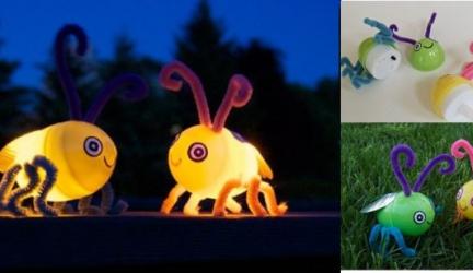 DIY – Lucioles lumineuses avec des œufs en plastique ! 0 (0)
