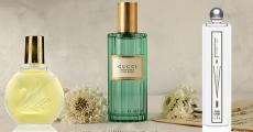 3 parfums (Gloria Vanderbilt, Gucci et Serge Lutens) offerts