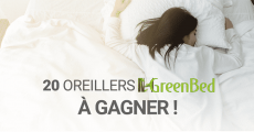 A remporter : 20 oreillers ergonomiques Green Bed