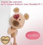 Gagnez des peluches de la marque Biodours!