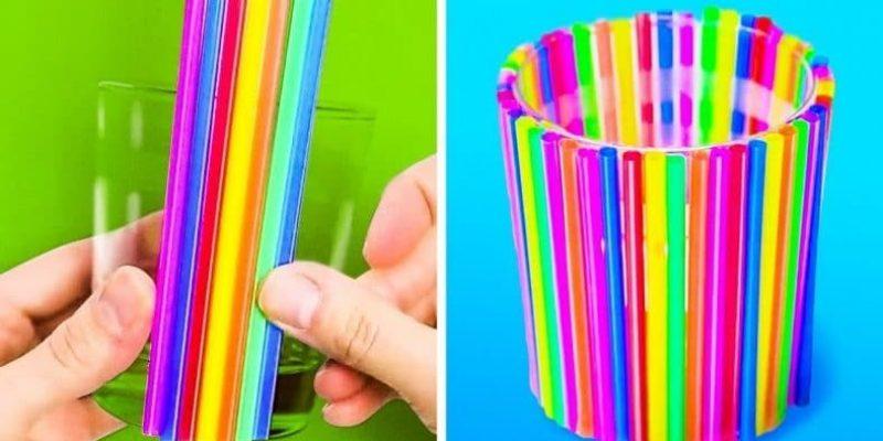 Ces astuces pour recycler des pailles en plastique sont fantastiques