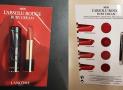 Mini palette L'Absolu Rouge de Lancôme offerte sur simple visite