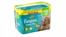 Big promo sur le méga pack des couches Pampers (+ coupons de réduction)
