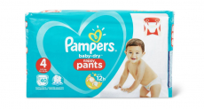 63000 paquets de couches Pampers Baby-Dry offerts !