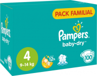 Réduction Couches Pampers chez Carrefour