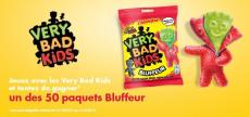 Des paquets de bonbon Very Bad Kids Bluffeur GRATUITS
