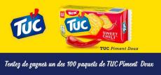 100 paquets de TUC Piment Doux à gagner