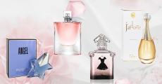 Parfum au choix (Dior, Lancôme, Guerlain, Thierry Mugler) offert