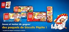 Des paquets de biscuits Pépito à gagner