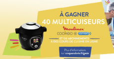 A gagner : 40 multicuiseurs Moulinex Cookeo+ Connect