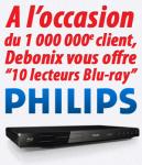 10 lecteurs Blu-ray Philips à gagner !