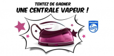 A gagner : 100 centrales vapeur Philips PerfectCare 0 (0)