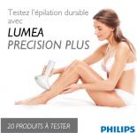 Testez l'épilation durable avec Lumea Precision Plus de Philips! 0 (0)
