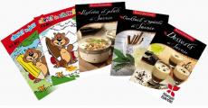 Livres de coloriage et de recettes gratuits sur simple demande (format papier)