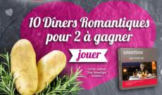 10 coffrets Smartbox Dîner romantique à gagner !