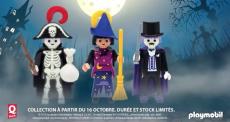 Spécial Halloween : Des figurines Playmobil en édition limitée offertes