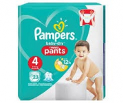 Réduction Baby Dry Pampers chez Intermarché