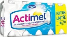 Réductions yaourt Actimel chez Intermarché