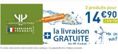 3 Produits Laboratoires Yves Ponroy à 14,90€ seulement au lieu de 67€ !