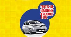 Une voiture électrique Renault Zoé à gagner
